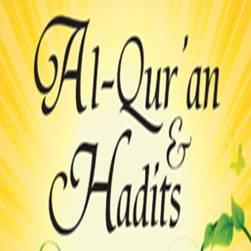 alqur'an hadits